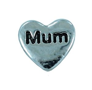 Picture of 'Mum' Heart Charm