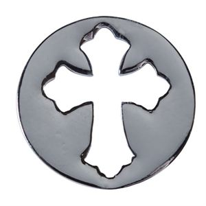 Picture of Large Silver Cross Screen